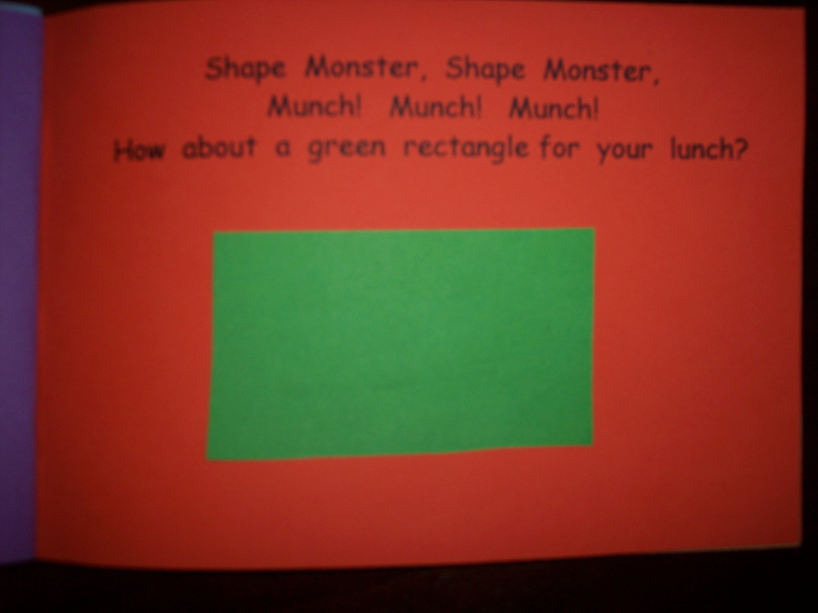 Shape Monster | Kindergarten Nana