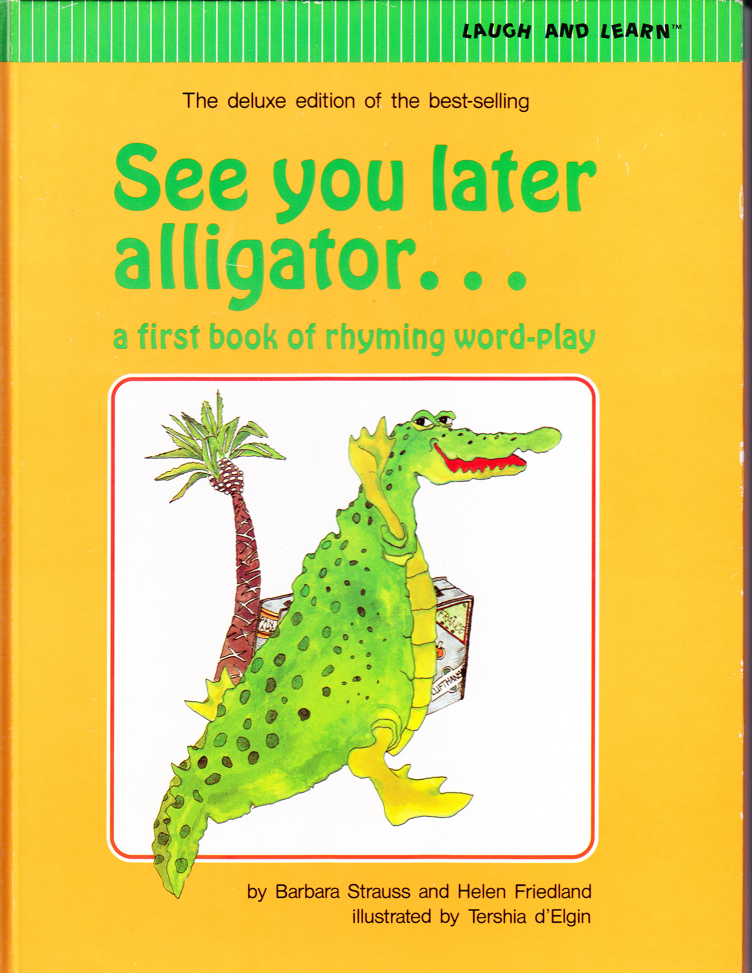 photo relating to See You Later Alligator Poem Printable called Watch Your self Afterwards, Alligator Kindergarten Nana