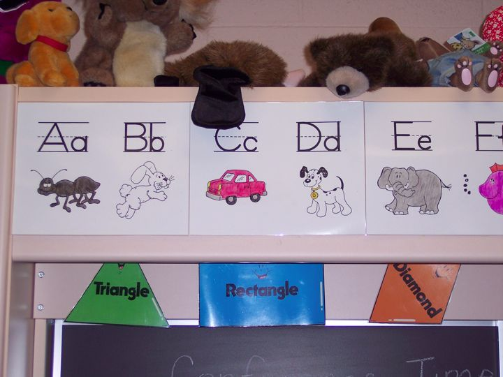 Alphabet Charts For Kindergarten by Alphabet Chart to Match