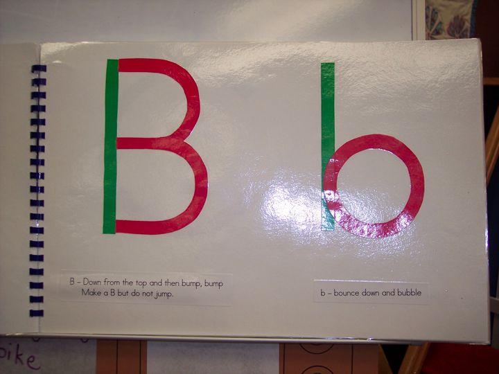 Letter formation kindergarten nana i spiritdancerdesigns Images