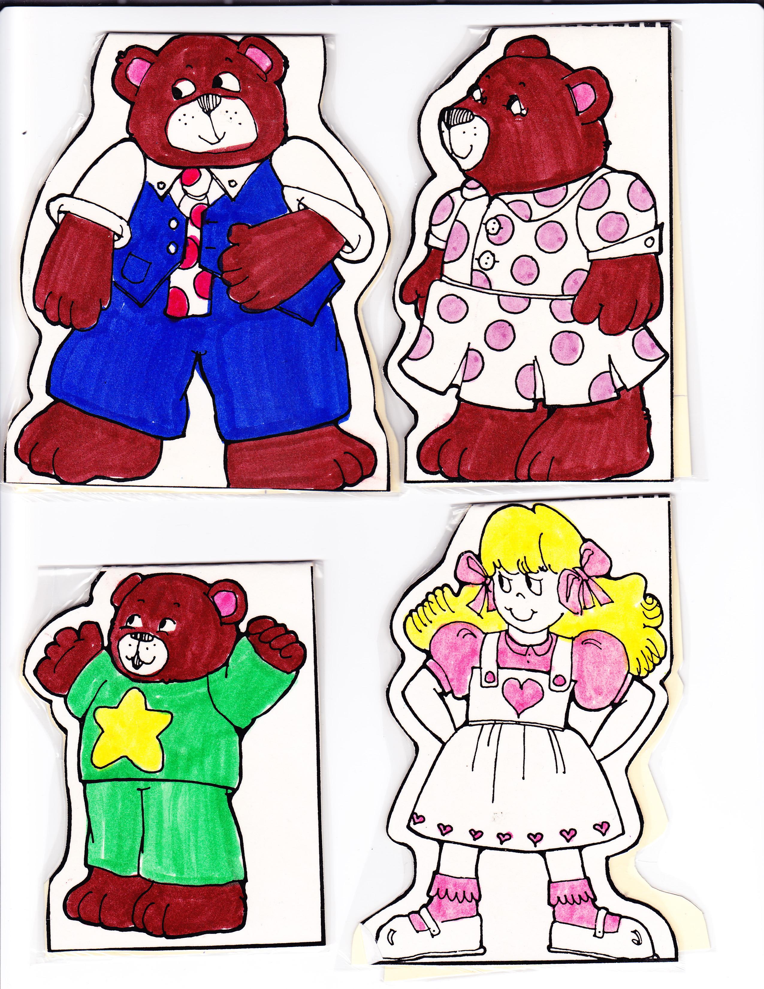 Search Results for u201cGoldilocks Three Bears Story Printable ...
