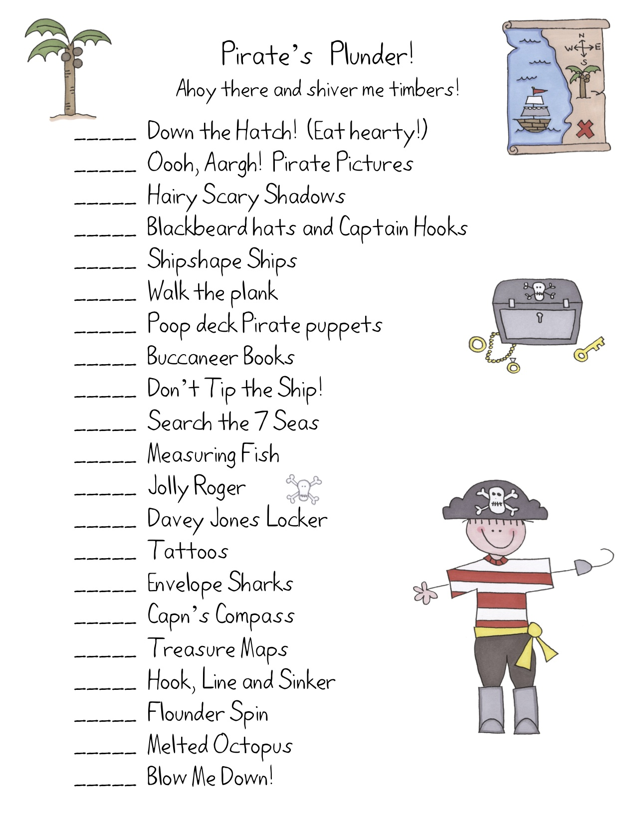 Pirate Craft Ideas For Kids Part - 45: Here Is A Short Description Of Some Of The Activities: Activity Explanations