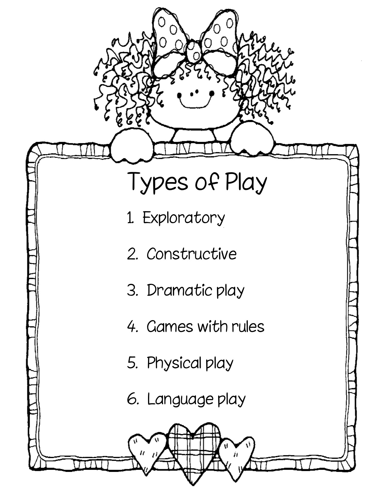 Where can i find information about types of childrens play?