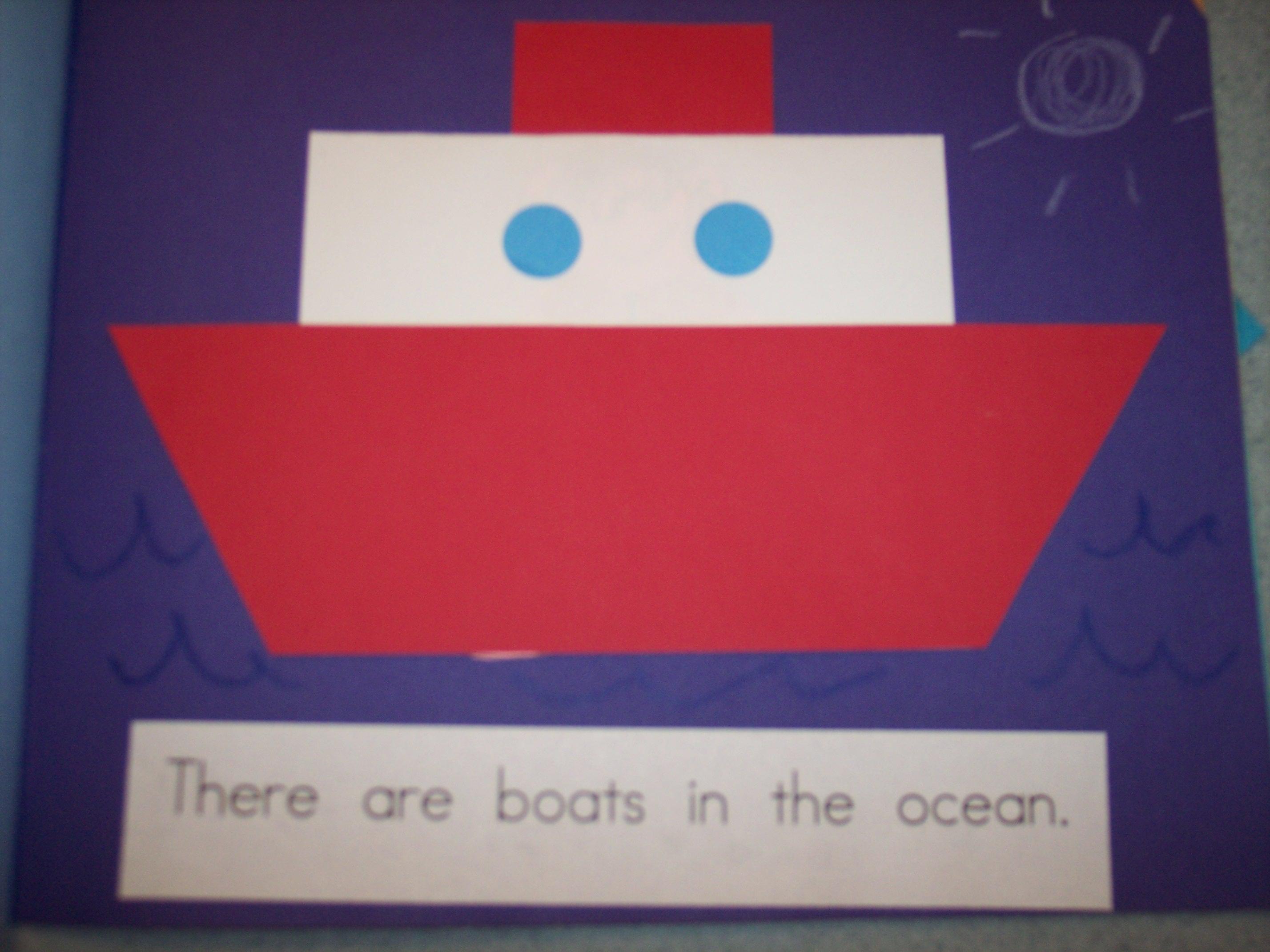 The Ocean | Kindergarten Nana