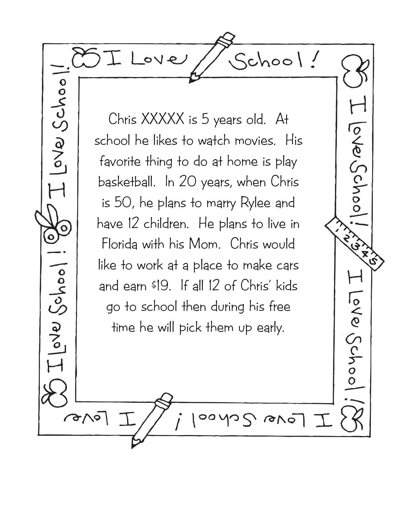 Time Capsules | Kindergarten Nana