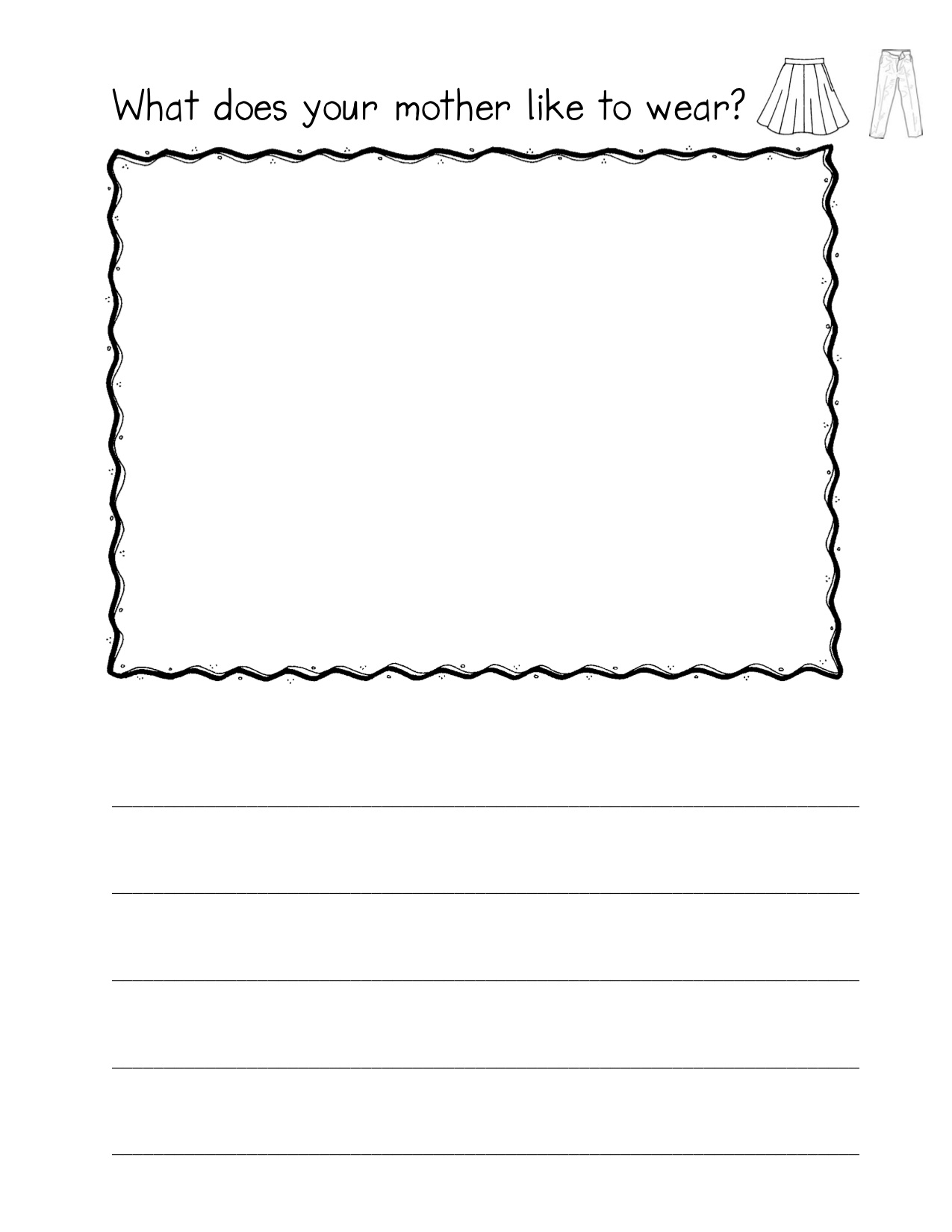 when curriculum - Printing Paper For Kindergarten