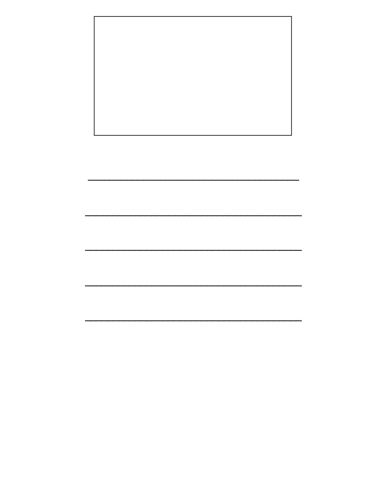 Printable pages of lined paper with drawing box - cncauto clinic