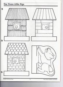 the three pigs kindergarten nana. Black Bedroom Furniture Sets. Home Design Ideas