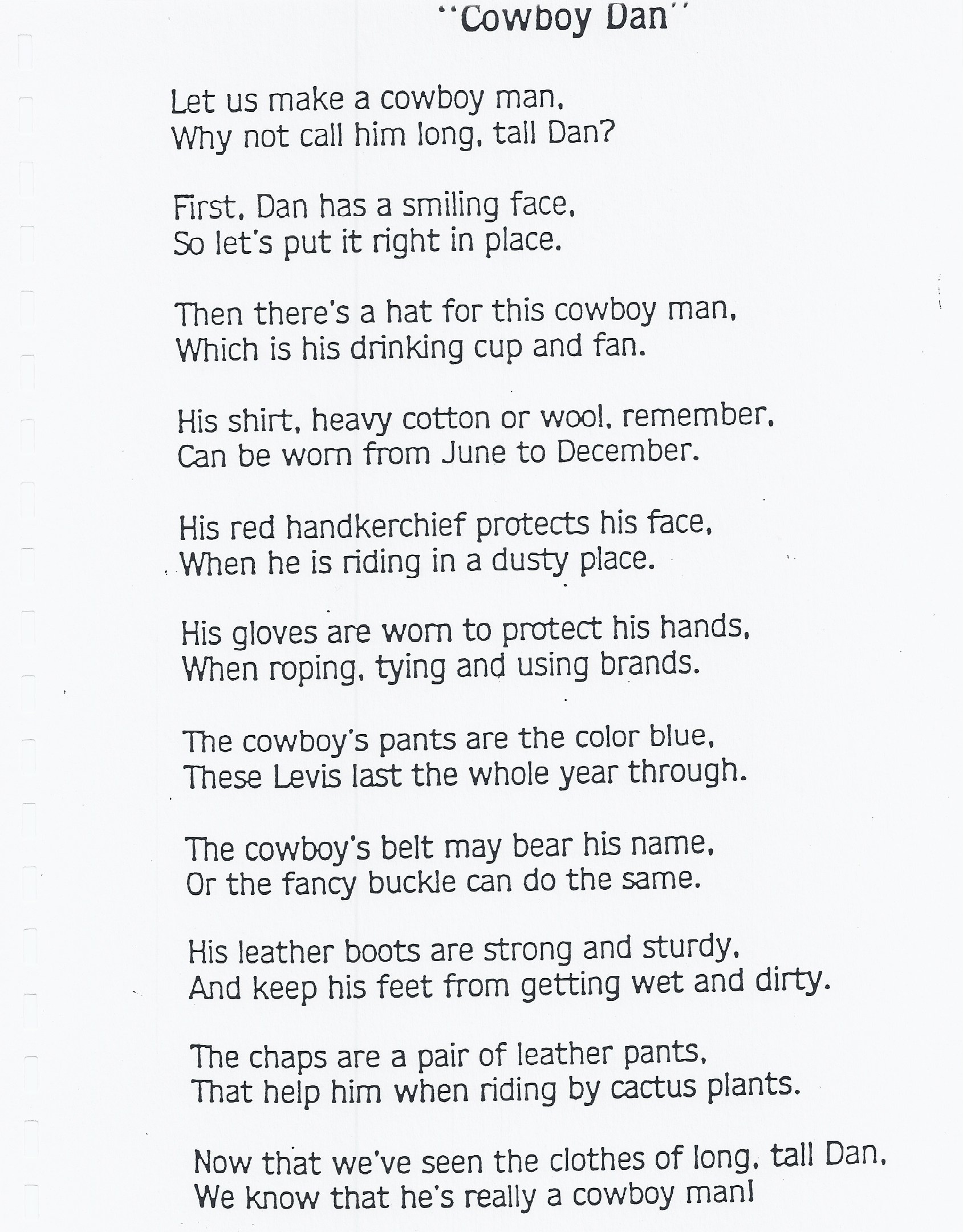 Cowboys! | Kindergarten Nana