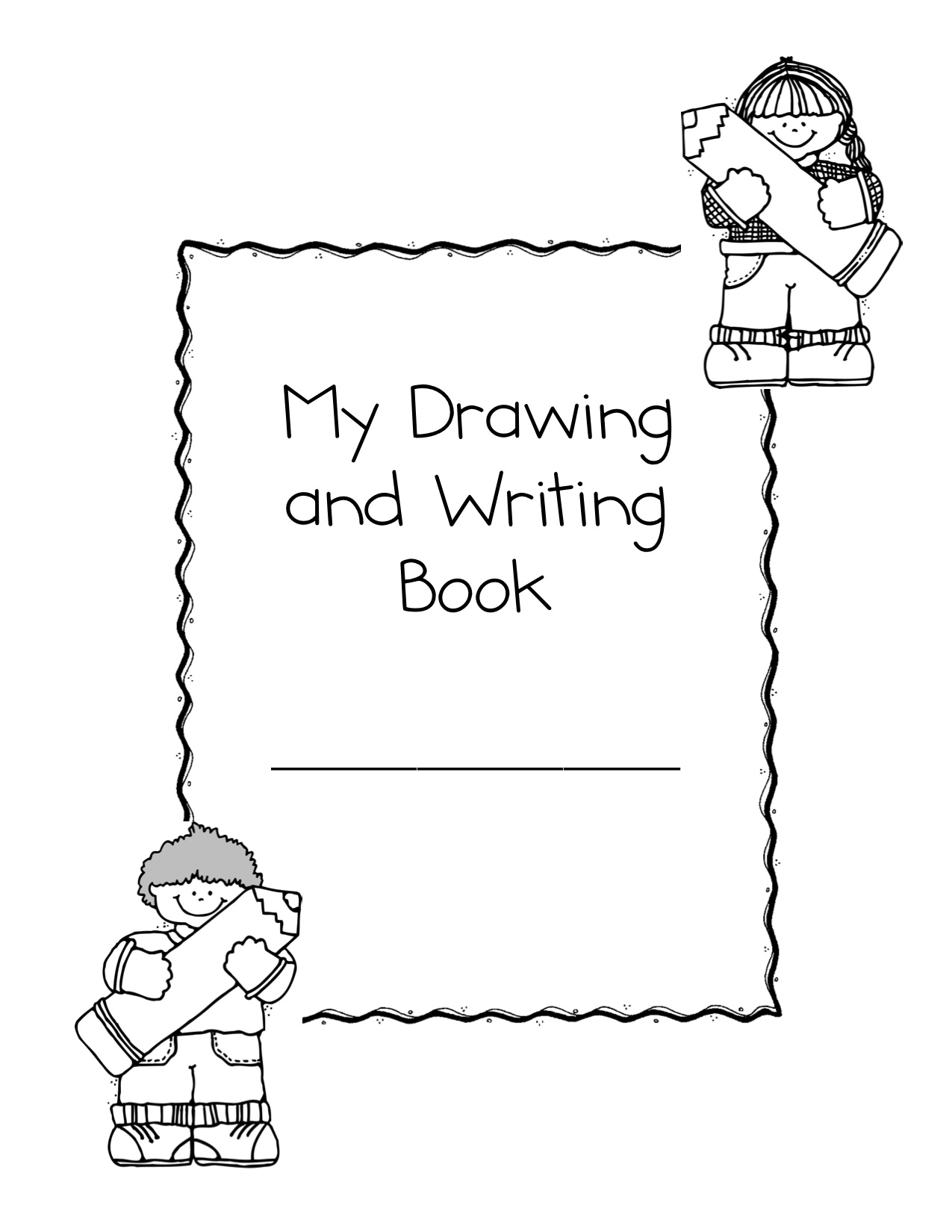 Cover Page Of Drawing Book : More first day stuff kindergarten nana