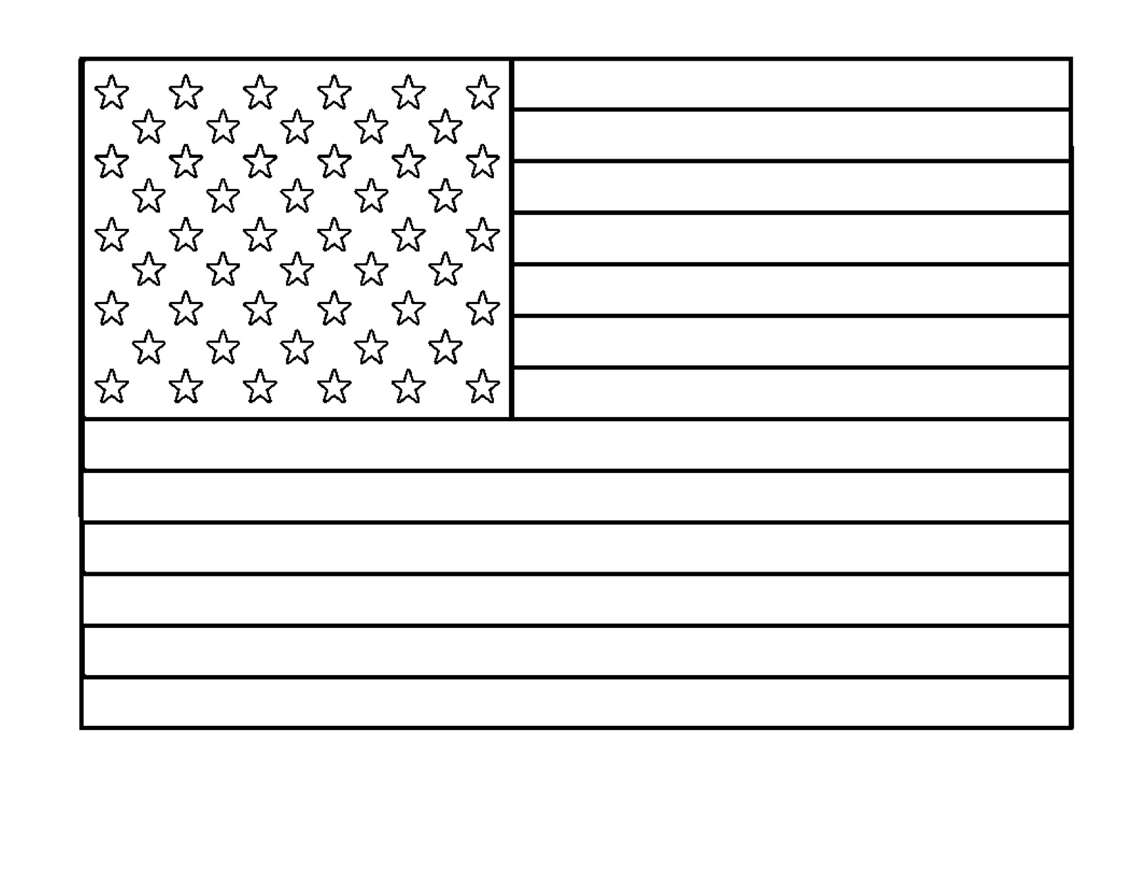 Displaying 12> Images For - American Flag Coloring Page For ...