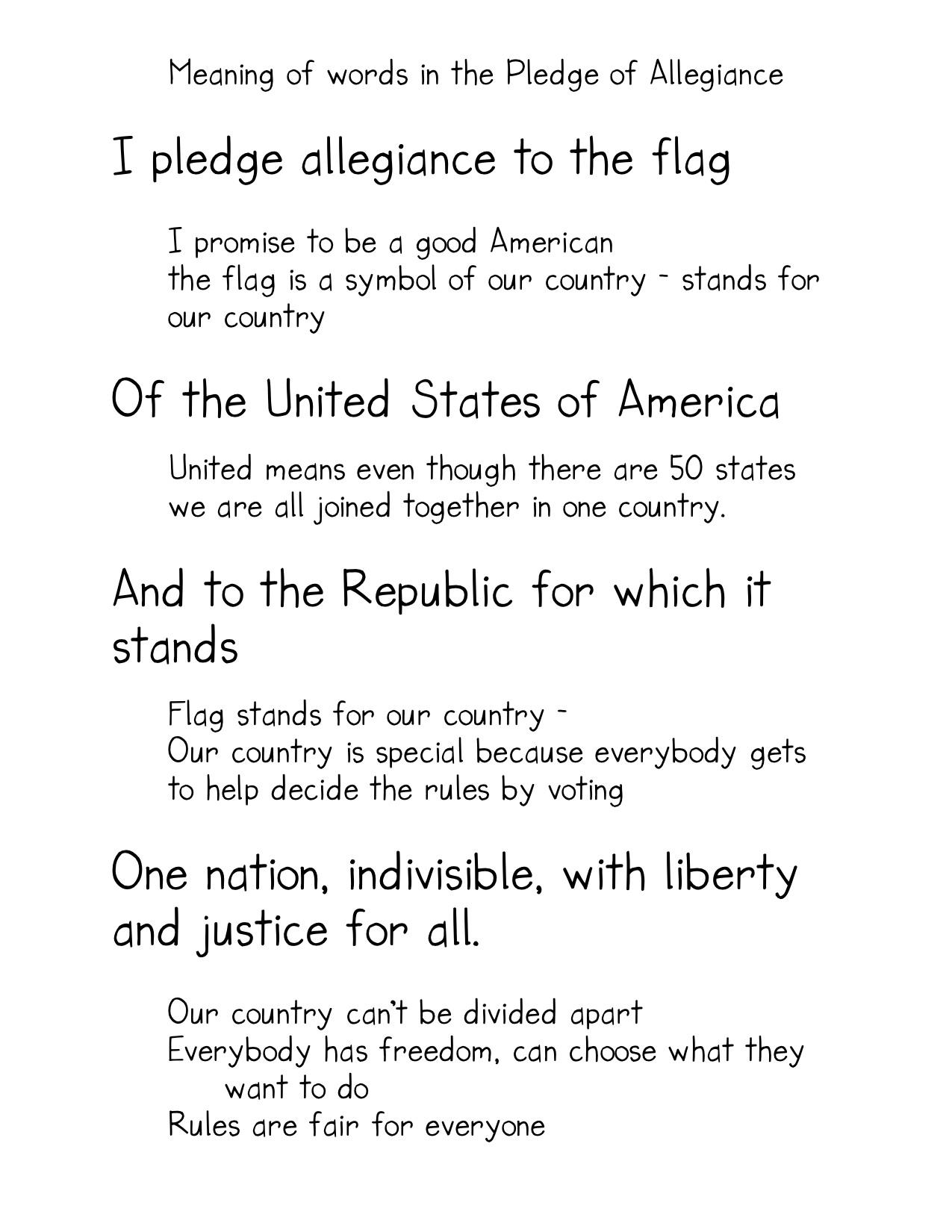 allegiance essay pledge Scribd es red social de lectura y publicación más importante del mundo.