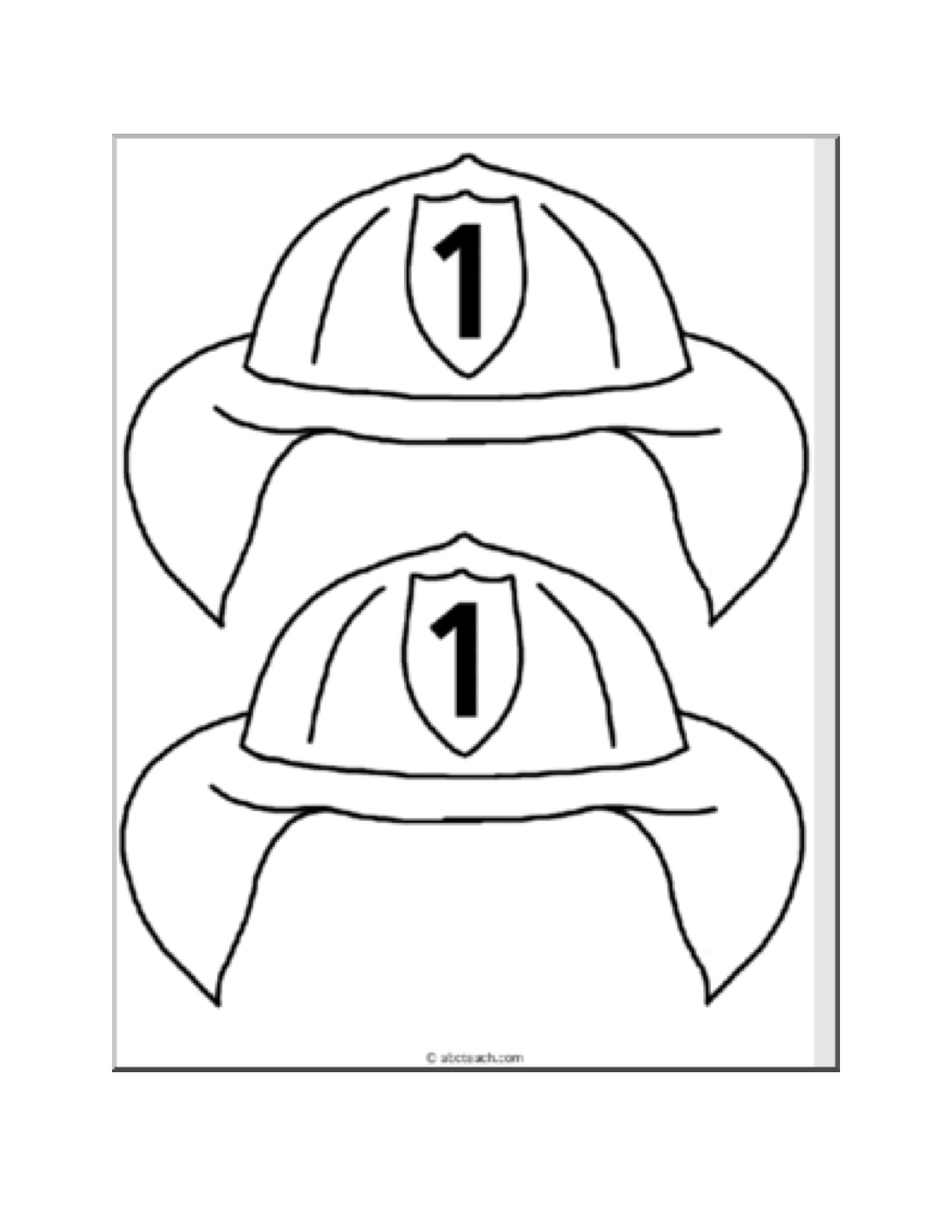 Fireman Hat Template http://dbsenk.wordpress.com/2011/09/13/fire-safety/