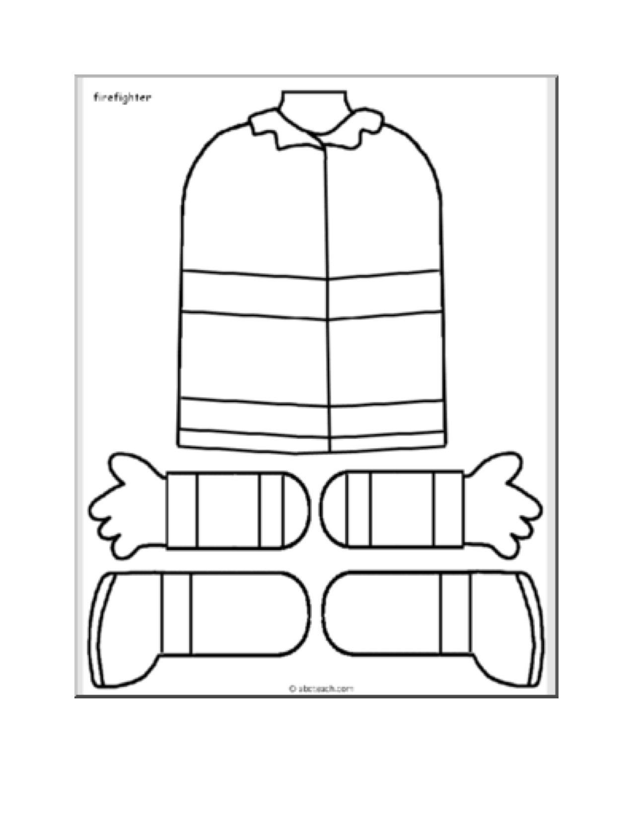 person template preschool - fire safety kindergarten nana