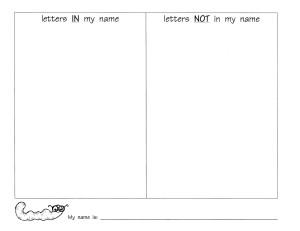 sheet recording  sheet word sort letters recording sight