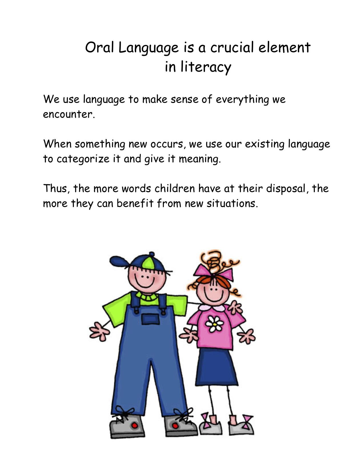 Development Of Oral Language 120