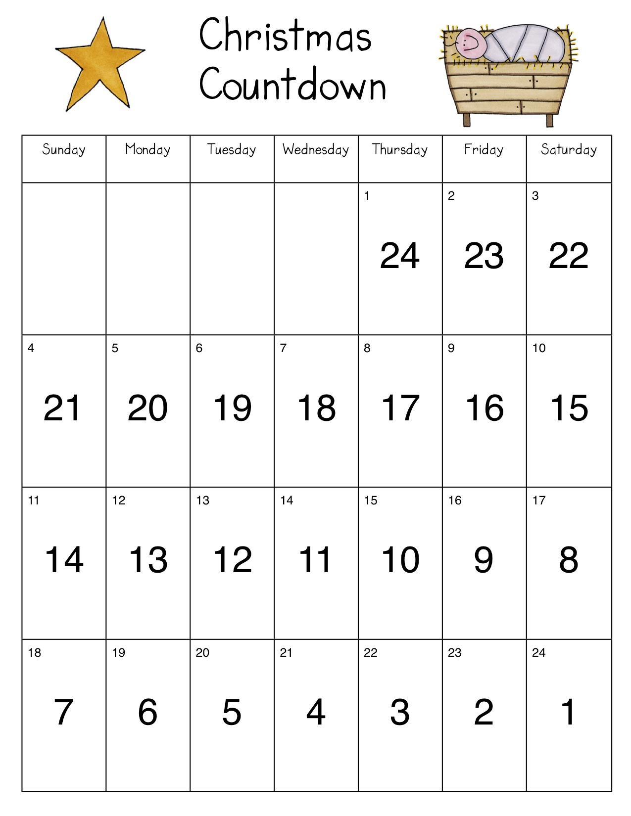 to tell how many days left until christmas so i revised it next - How Many Days Of Christmas