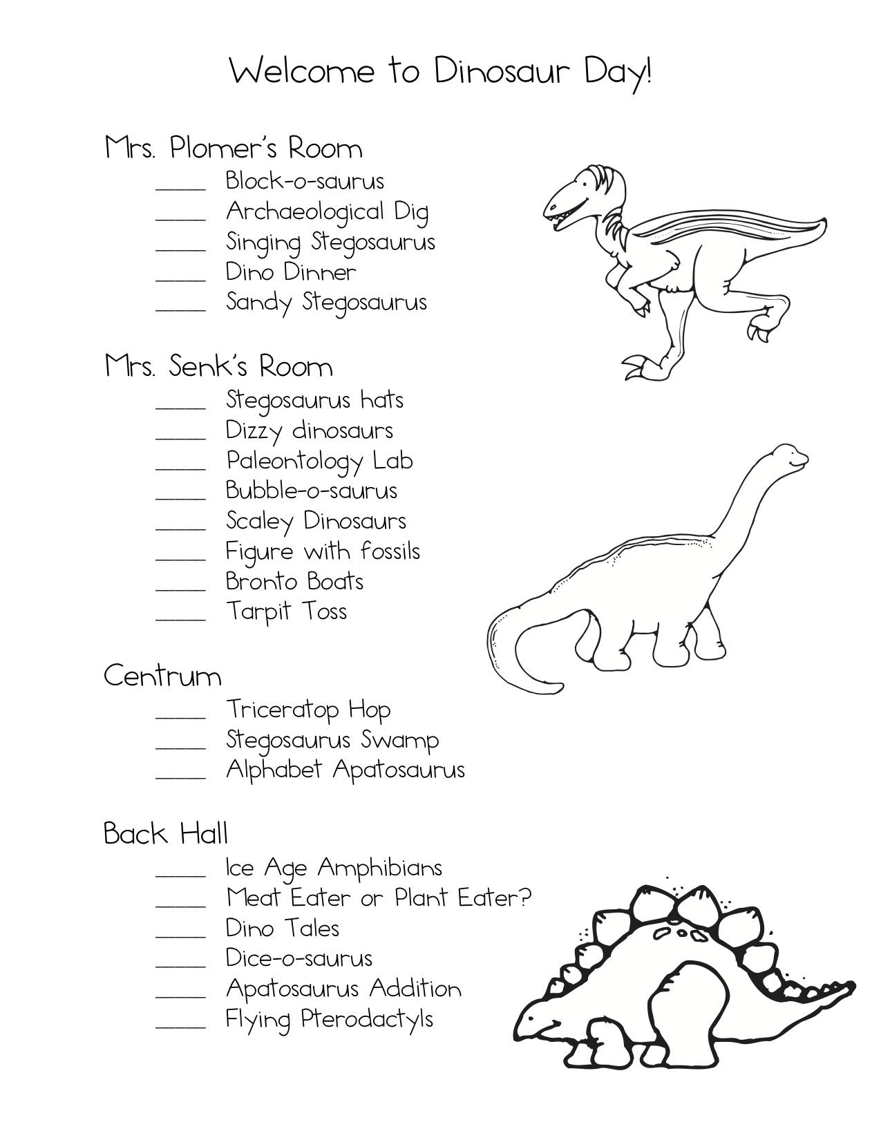 delightful dinosaur day kindergarten nana. Black Bedroom Furniture Sets. Home Design Ideas