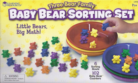 Bear sorting set