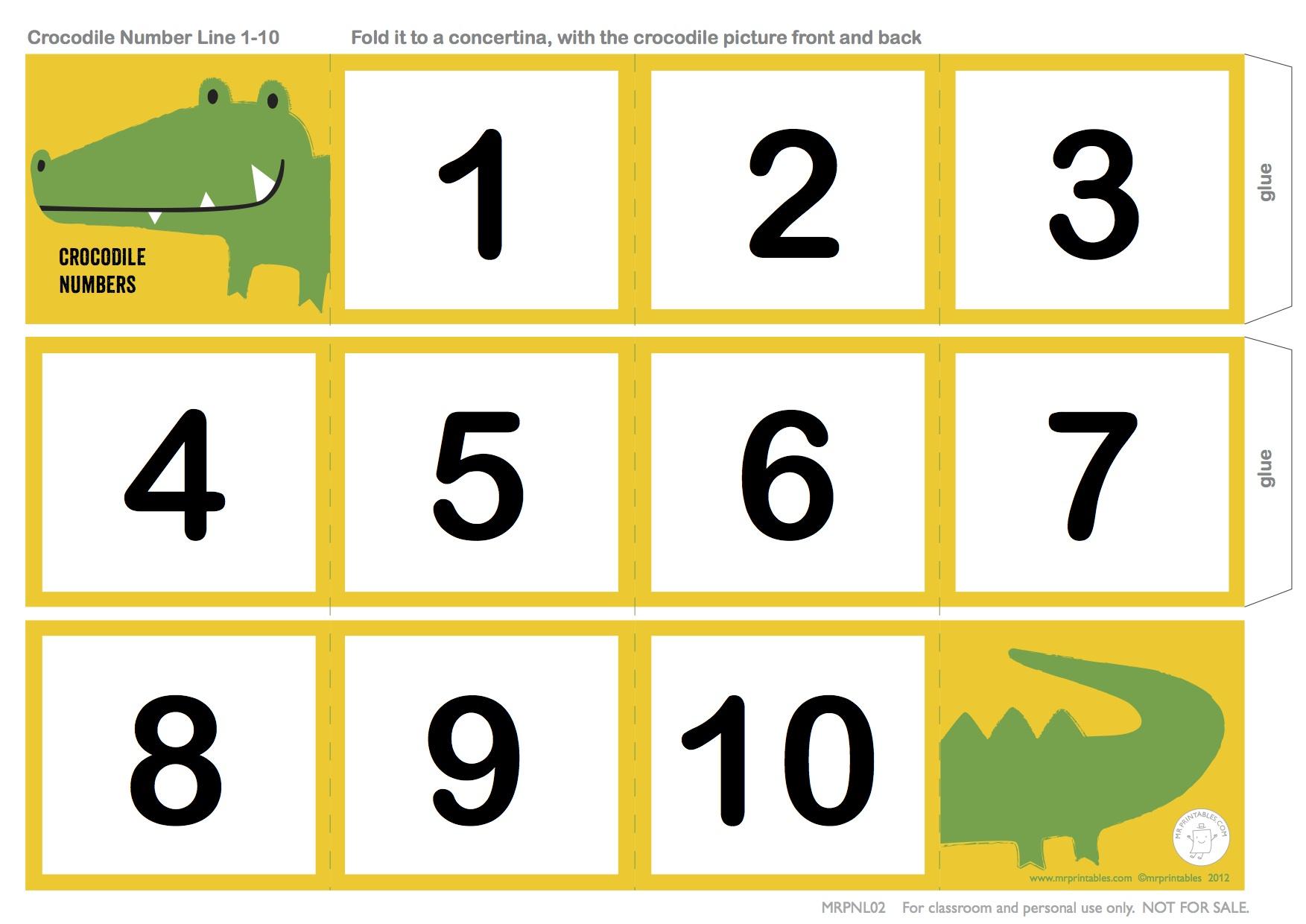worksheet Counting Numbers counting bears paula lyra elt school crocodile number line