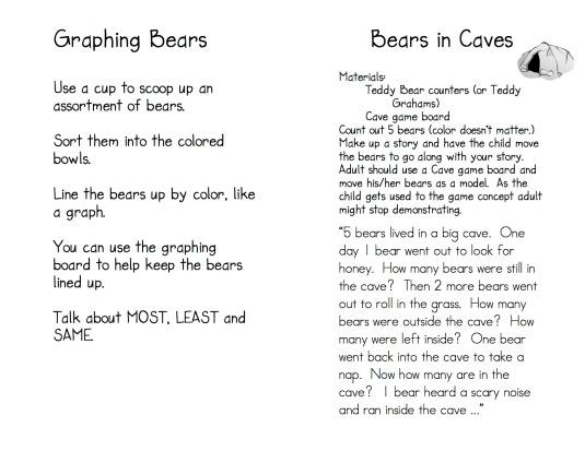 Teddy Bear Game Directions 6
