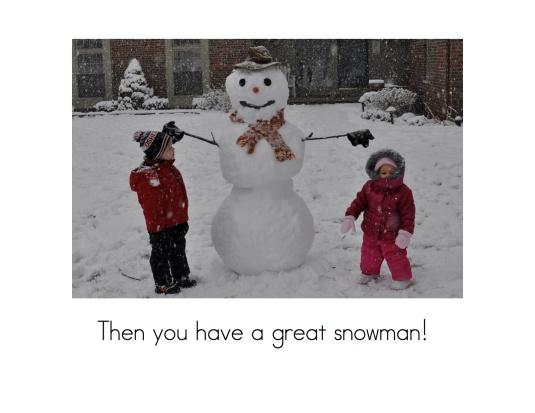 Build Snowman8