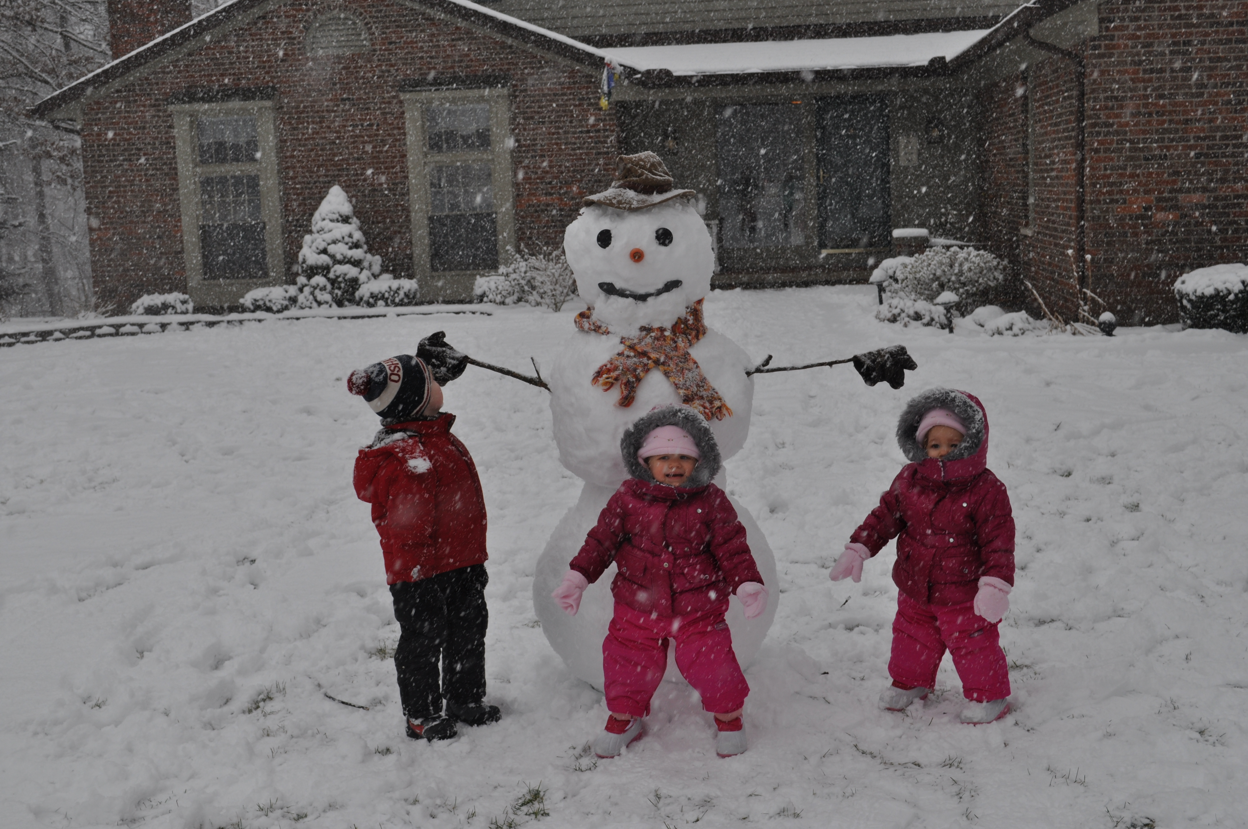 How to build a snowman kindergarten nana for How to make a snowman