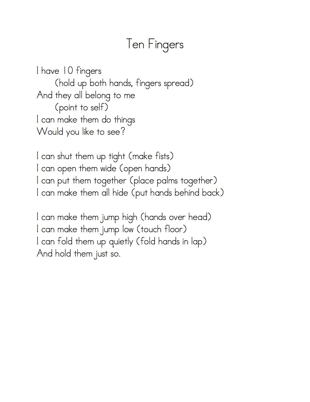 10 little indians poem pdf