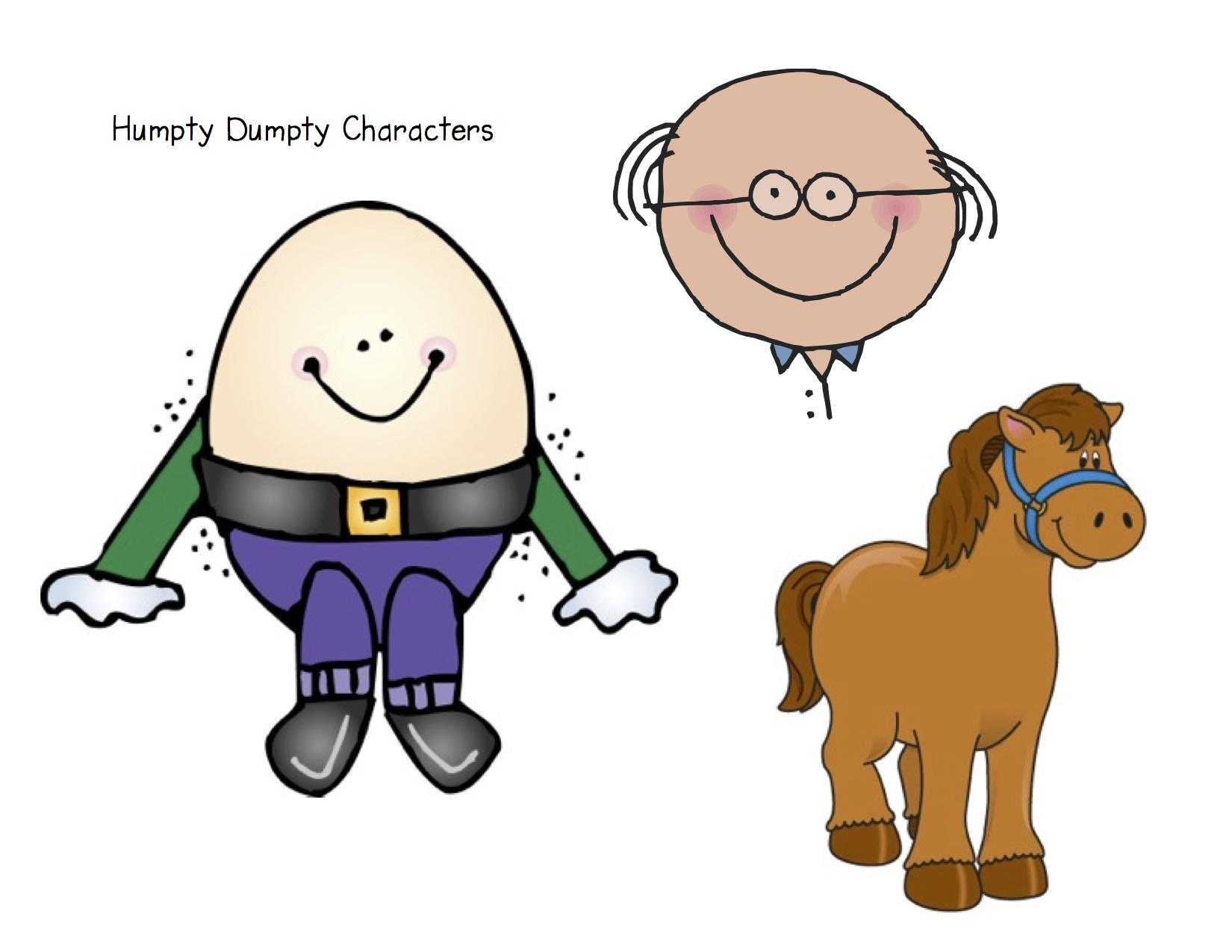 Humpty Dumpty Clip Art More fun with nursery rhymes! kindergarten nana