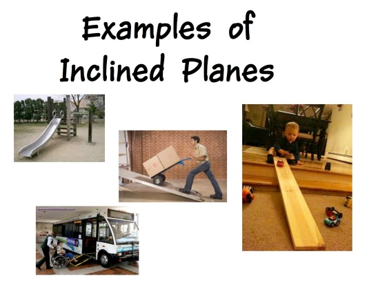 Inclined planes examples