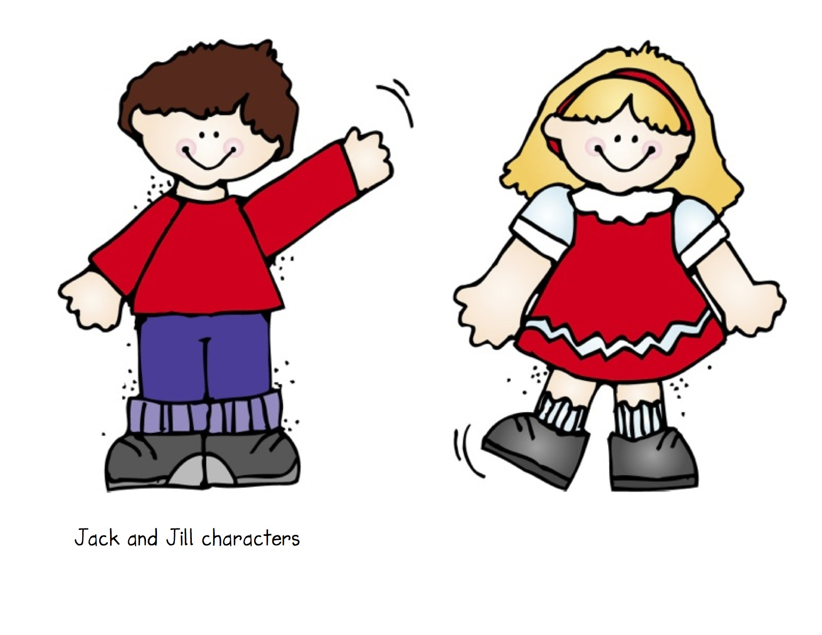 jack and jill went up the hill clipart wwwimgkidcom