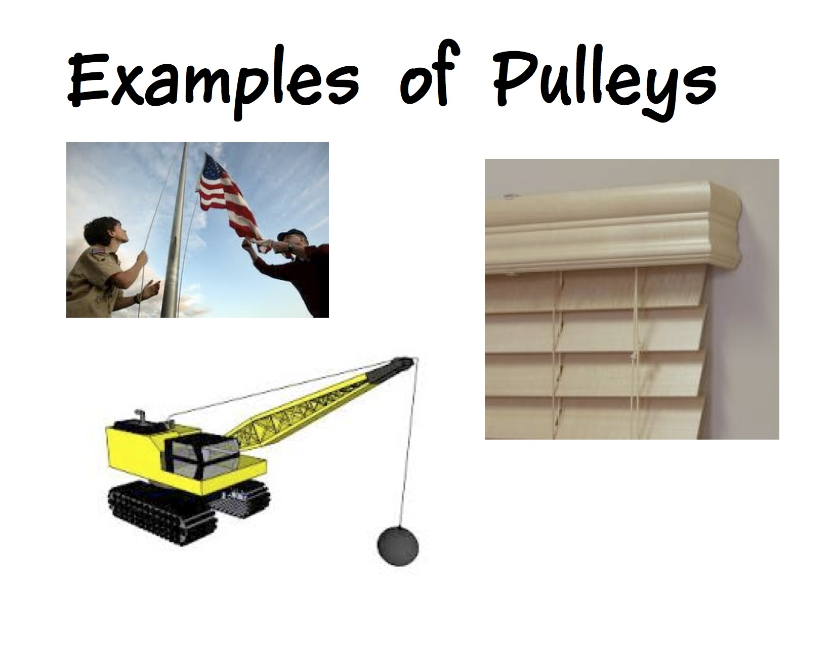 Inclined Plane Examples In Everyday Life wonderful examples of pulleys in the home intended inspiration