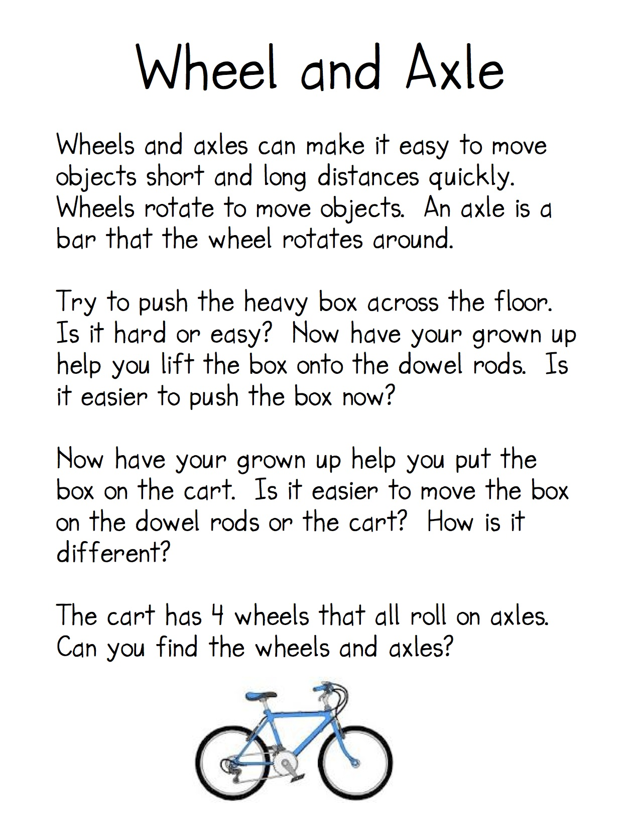 worksheet Worksheet On Simple Machines For Grade 5 simple machines kindergarten nana wheel directions