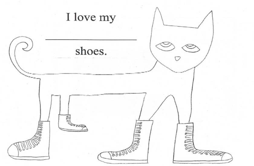 pete the cat  kindergarten nana