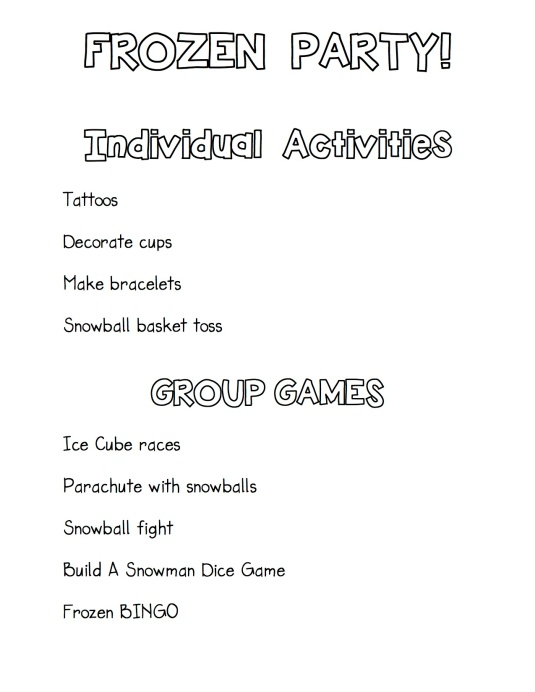 Games and Activities copy
