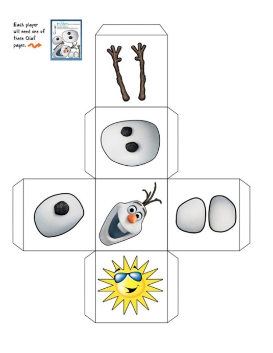 Olaf dice