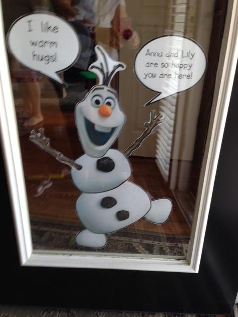 Olaf door
