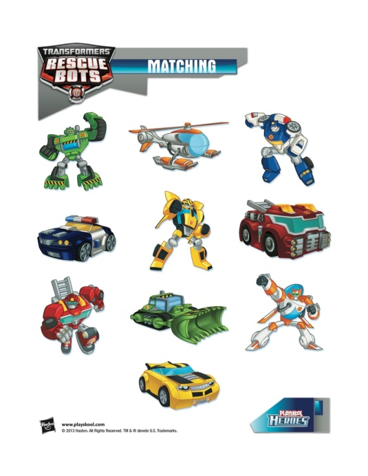 rescue bots match
