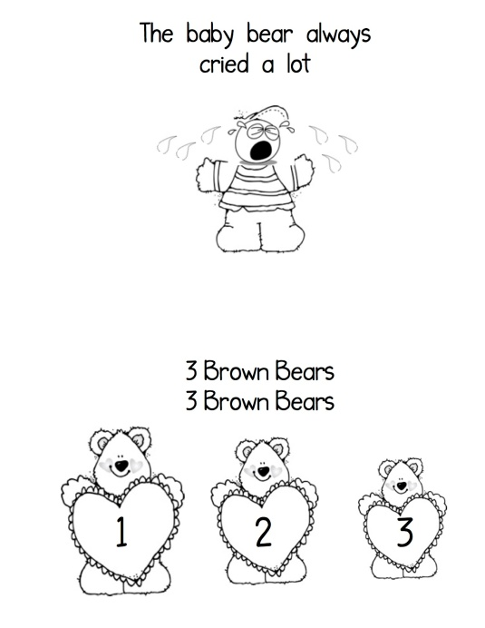 Bear song book4