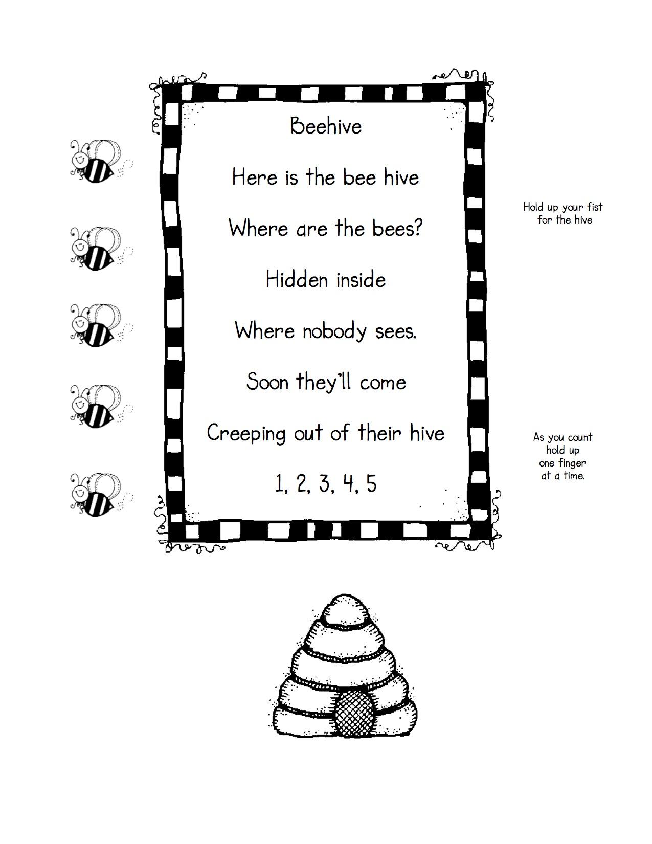 oral language kindergarten nana