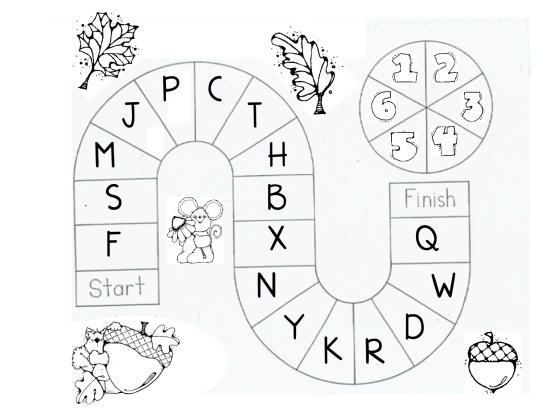 Letter gameboard