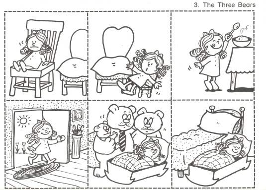 Goldilocks And The Three Bears Pictures To Sequence – Goldilocks and the Three Bears Worksheets